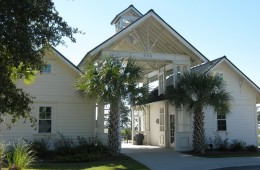 Entrance to Amenities Center